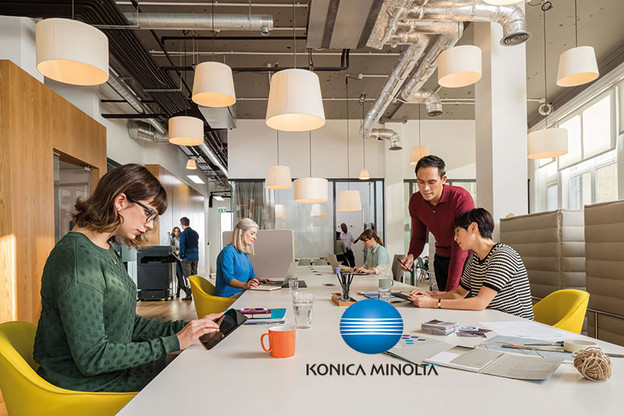 Konica Minolta: Work place of the future